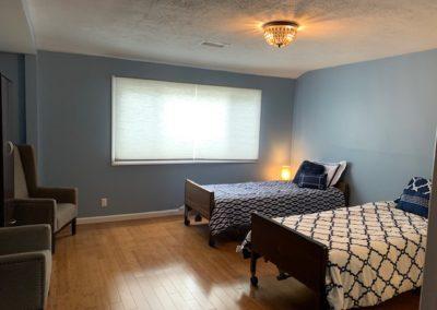 Bedrooms at South Bay Memory Care